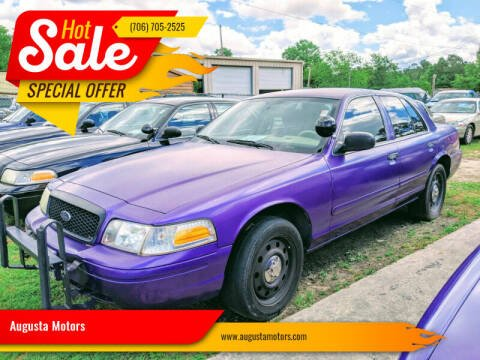 2007 Ford Crown Victoria for sale at Augusta Motors in Augusta GA