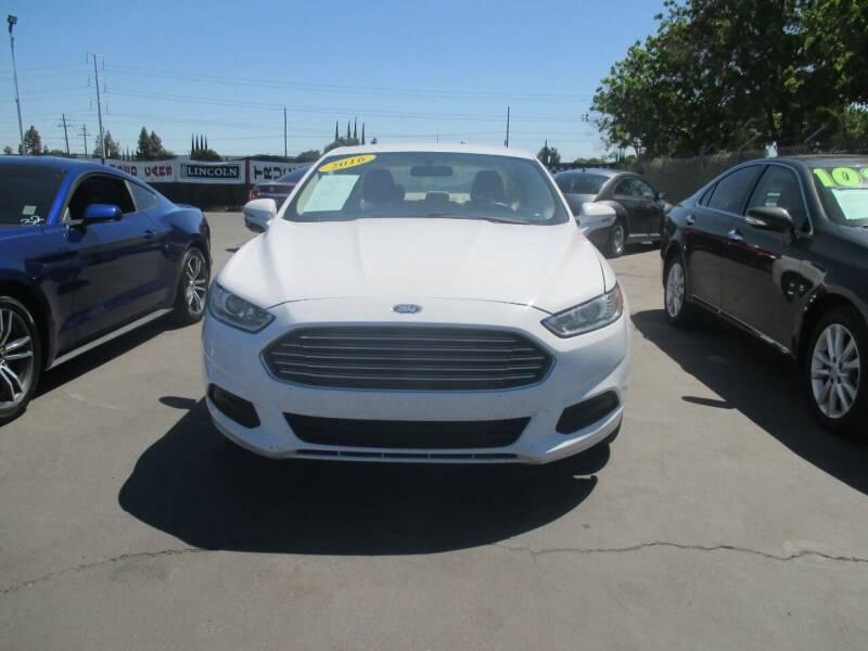 2016 Ford Fusion for sale at Quick Auto Sales in Modesto CA