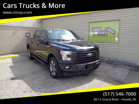 2017 Ford F-150 for sale at Cars Trucks & More in Howell MI