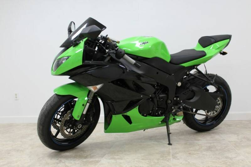 2012 Kawasaki Ninja ZX-6R for sale in Houston, TX