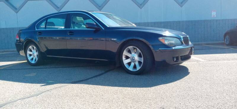 2006 BMW 7 Series for sale at Double Take Auto Sales LLC in Dayton OH
