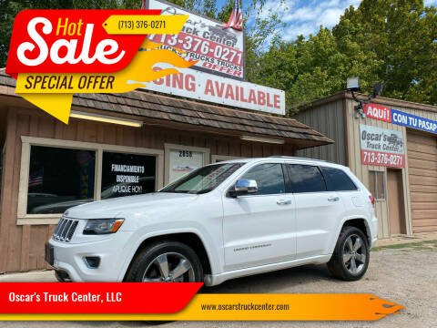 2014 Jeep Grand Cherokee for sale at Oscar's Truck Center, LLC in Houston TX