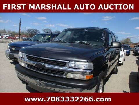 2006 Chevrolet Suburban for sale at First Marshall Auto Auction in Harvey IL