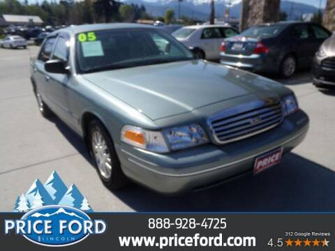 2005 Ford Crown Victoria for sale at Price Ford Lincoln in Port Angeles WA