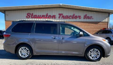 2016 Toyota Sienna for sale at STAUNTON TRACTOR INC in Staunton VA