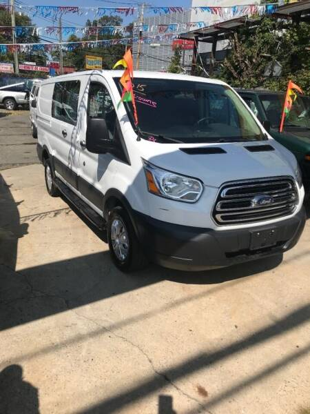 2015 Ford Transit Cargo for sale at The Van Man INC in Staten Island NY