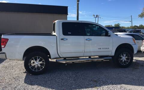 2011 Nissan Titan for sale at Bobby Lafleur Auto Sales in Lake Charles LA