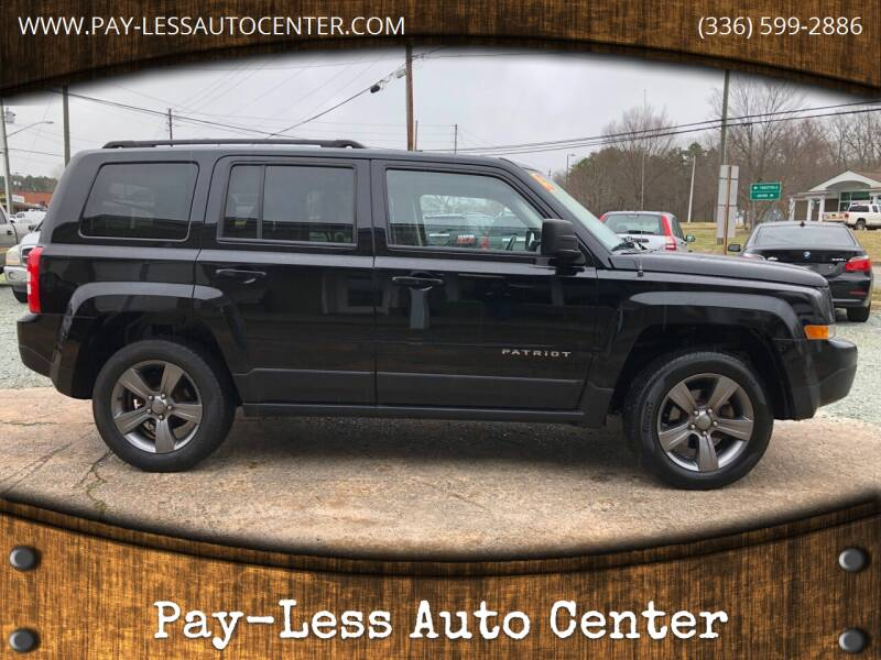 2015 Jeep Patriot for sale at Pay-Less Auto Center-Burlington Road in Roxboro NC