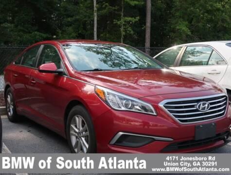 2016 Hyundai Sonata for sale at Carol Benner @ BMW of South Atlanta in Union City GA