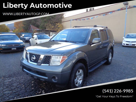 2005 Nissan Pathfinder for sale at Liberty Automotive in Grants Pass OR