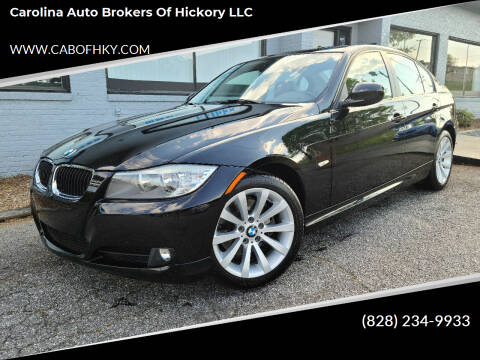 2011 BMW 3 Series for sale at Carolina Auto Brokers of Hickory LLC in Newton NC