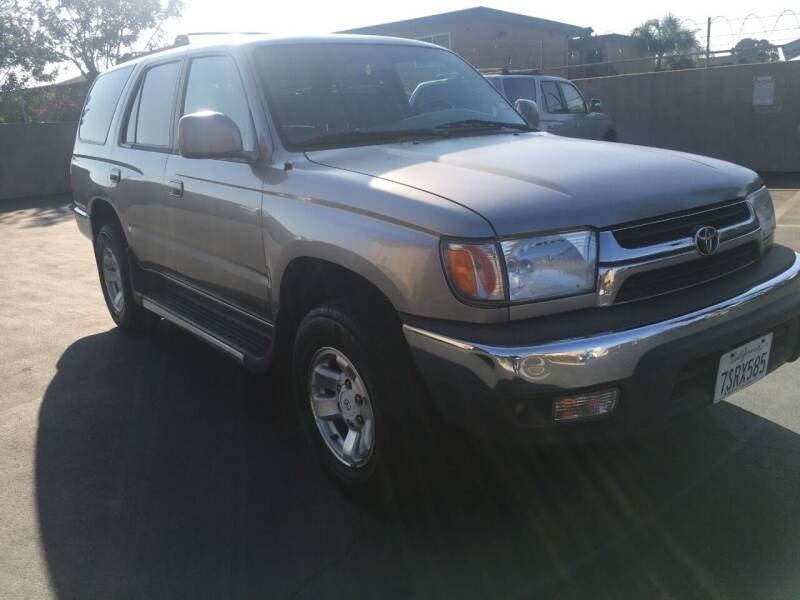 2001 Toyota 4Runner for sale at American Wholesalers in Huntington Beach CA
