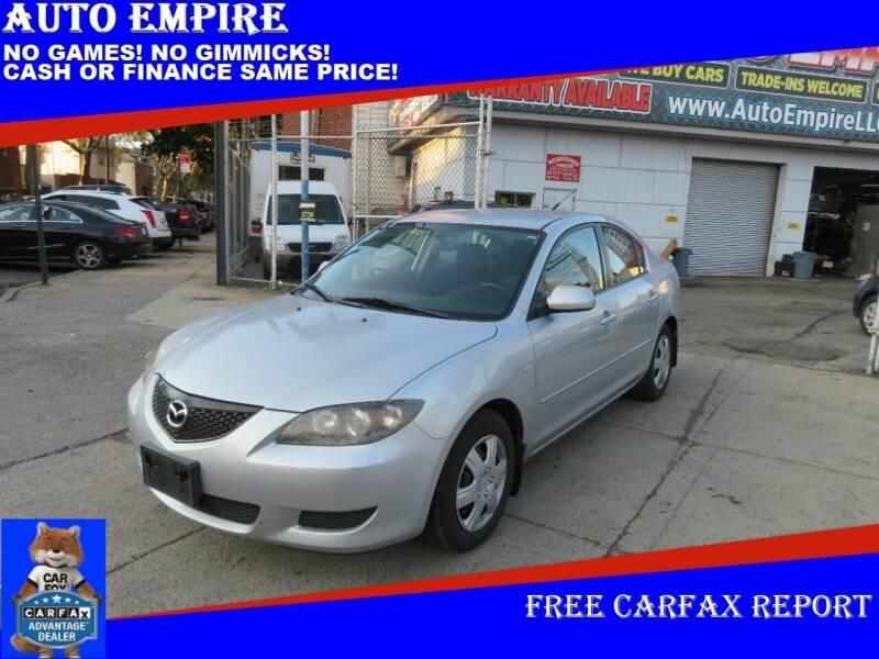 2006 Mazda MAZDA3 for sale at Auto Empire in Brooklyn NY