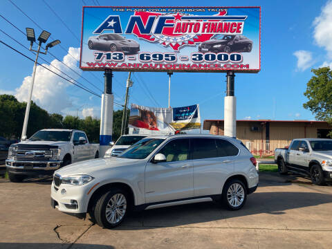 2017 BMW X5 for sale at ANF AUTO FINANCE in Houston TX