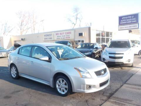 2010 Nissan Sentra for sale at Gregory J Auto Sales in Roseville MI
