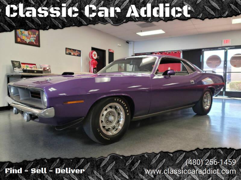 1970 Plymouth Barracuda for sale at Classic Car Addict in Mesa AZ