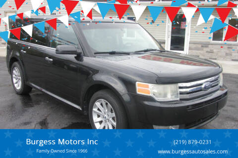 2010 Ford Flex for sale at Burgess Motors Inc in Michigan City IN