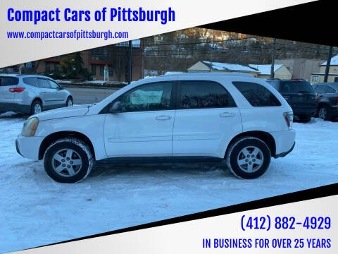 2005 Chevrolet Equinox for sale at Compact Cars of Pittsburgh in Pittsburgh PA