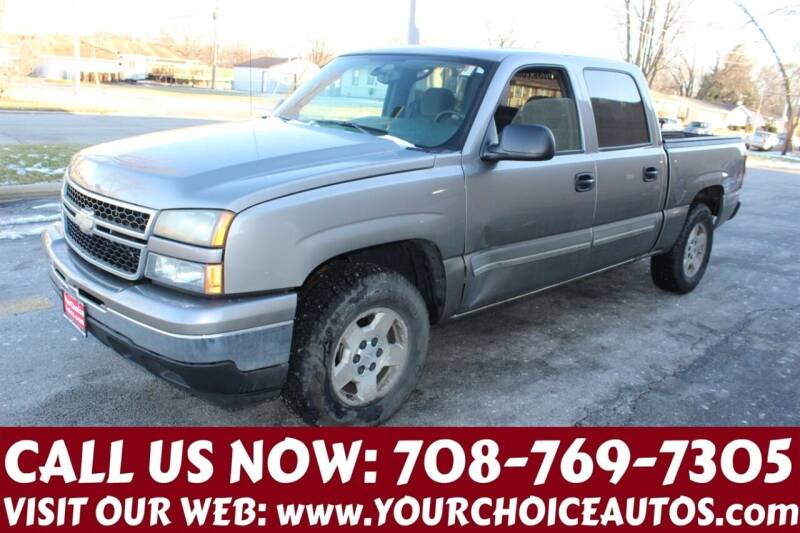 2007 Chevrolet Silverado 1500 Classic for sale at Your Choice Autos in Posen IL