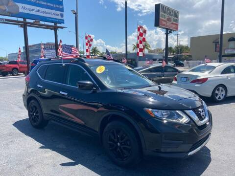 2017 Nissan Rogue for sale at MACHADO AUTO SALES in Miami FL