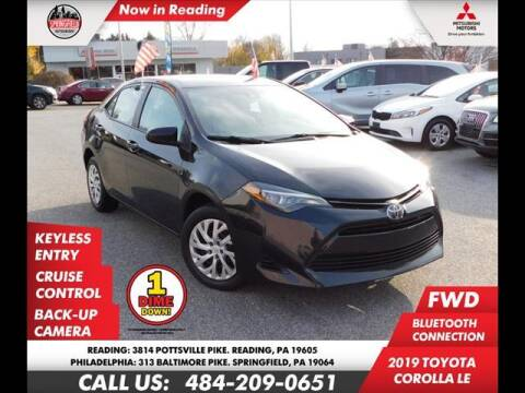 2019 Toyota Corolla for sale at Volkswagen of Springfield in Springfield PA