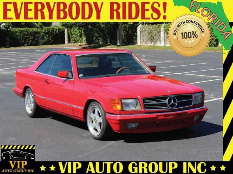 1983 Mercedes-Benz 500-Class for sale at VIP Auto Group in Clearwater FL