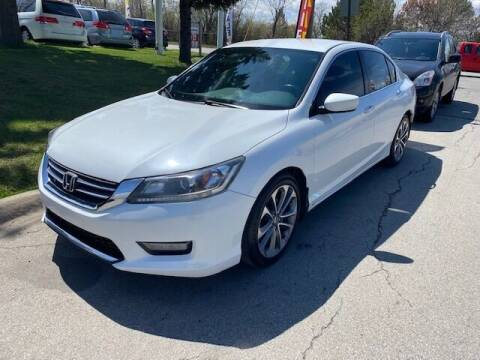 2014 Honda Accord for sale at NORTH CHICAGO MOTORS INC in North Chicago IL