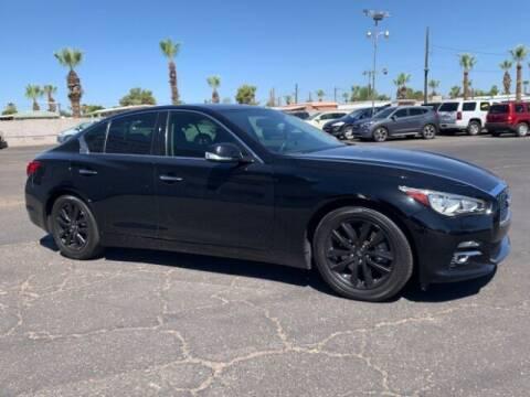 2015 Infiniti Q50 Hybrid for sale at Brown & Brown Wholesale in Mesa AZ