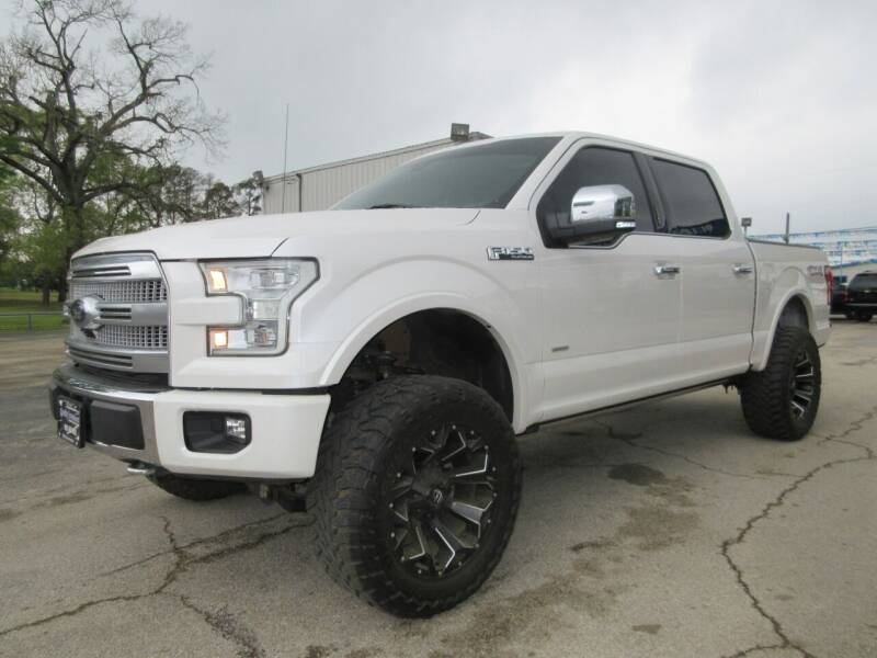 2015 Ford F-150 for sale at Quality Investments in Tyler TX