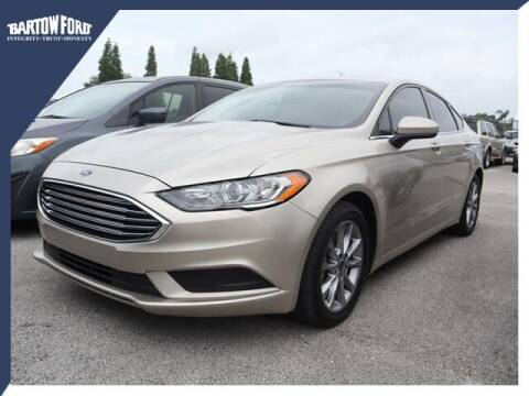 2017 Ford Fusion for sale at BARTOW FORD CO. in Bartow FL