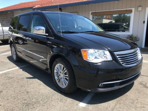 2016 Chrysler Town and Country for sale at Martinez Truck and Auto Sales in Martinez CA