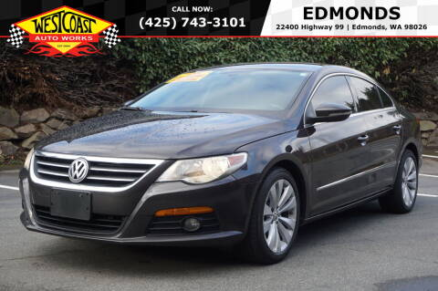 2010 Volkswagen CC for sale at West Coast Auto Works in Edmonds WA