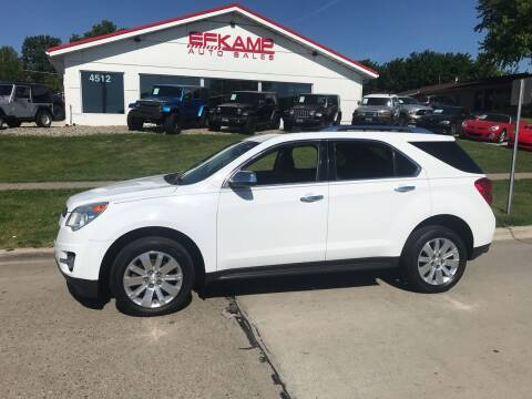 2011 Chevrolet Equinox for sale at Efkamp Auto Sales LLC in Des Moines IA