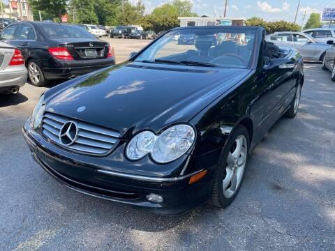 2005 Mercedes-Benz CLK for sale at Atlantic Auto Sales in Garner NC