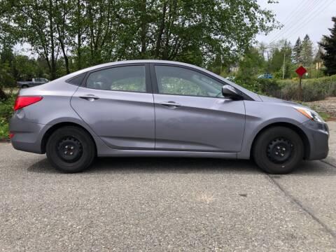 2015 Hyundai Accent for sale at Grandview Motors Inc. in Gig Harbor WA