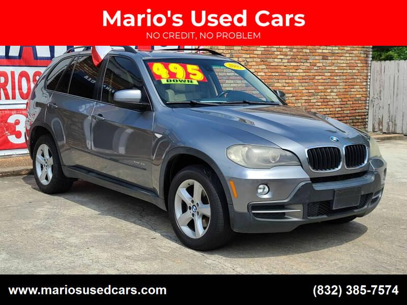 2009 BMW X5 for sale at Mario's Used Cars - Pasadena Location in Pasadena TX
