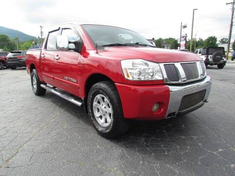 2006 Nissan Titan for sale at Hibriten Auto Mart in Lenoir NC
