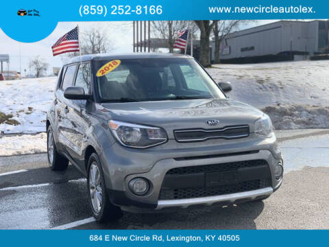 2018 Kia Soul for sale at New Circle Auto Sales LLC in Lexington KY