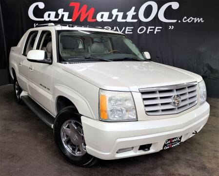 2004 Cadillac Escalade EXT for sale at CarMart OC in Costa Mesa, Orange County CA
