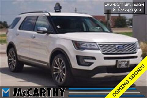 2016 Ford Explorer for sale at Mr. KC Cars - McCarthy Hyundai in Blue Springs MO