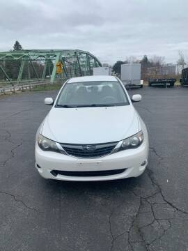 2008 Subaru Impreza for sale at WXM Auto in Cortland NY