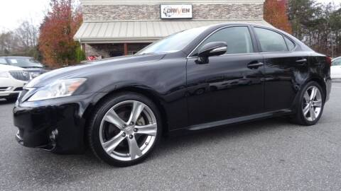 2011 Lexus IS 250 for sale at Driven Pre-Owned in Lenoir NC