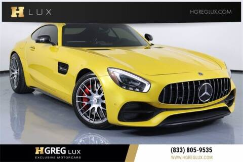 2018 Mercedes-Benz AMG GT for sale at HGREG LUX EXCLUSIVE MOTORCARS in Pompano Beach FL