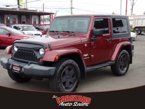 2008 Jeep Wrangler for sale at CARSTARS AUTO SALES in Olympia WA