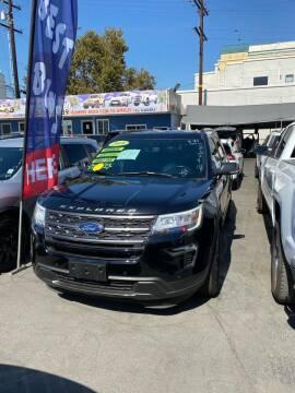 2018 Ford Explorer for sale at 2955 FIRESTONE BLVD - 3271 E. Firestone Blvd Lot in South Gate CA