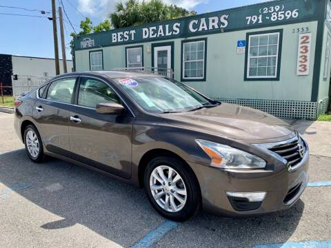 2014 Nissan Altima for sale at Best Deals Cars Inc in Fort Myers FL