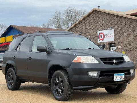 2001 Acura MDX for sale at Big Man Motors in Farmington MN