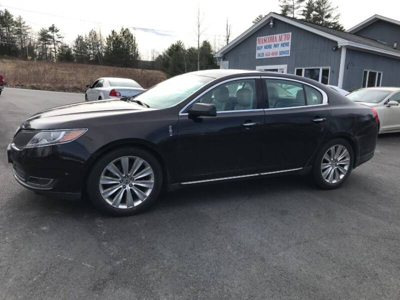 2013 Lincoln MKS for sale at Mascoma Auto INC in Canaan NH