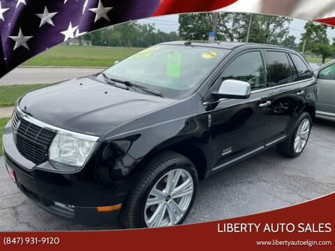 2008 Lincoln MKX for sale at Liberty Auto Sales in Elgin IL
