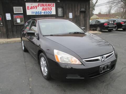 2007 Honda Accord for sale at EZ Finance Auto in Calumet City IL
